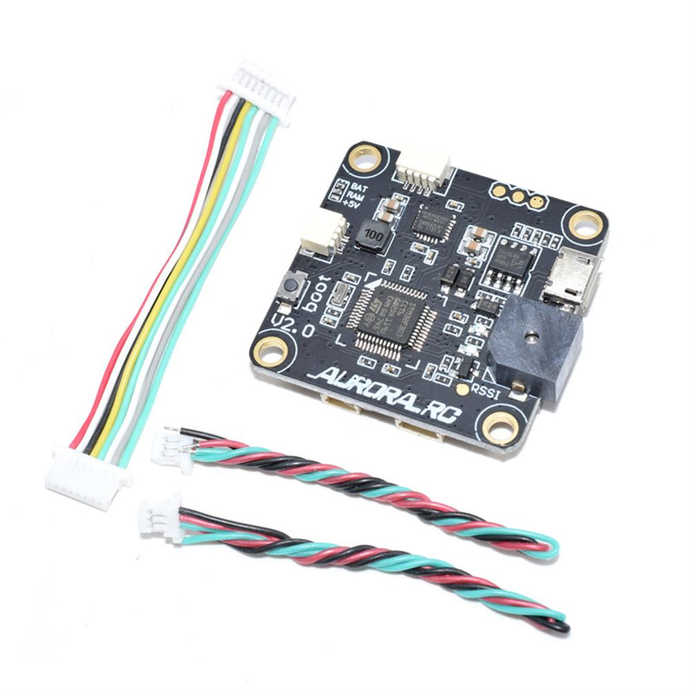 multi-rotor-parts AuroraRC 30.5*30.5mm AR-F3PRO Flight Controller Built-in OSD 5V/3A BEC for FPV RC Drone RC1293793