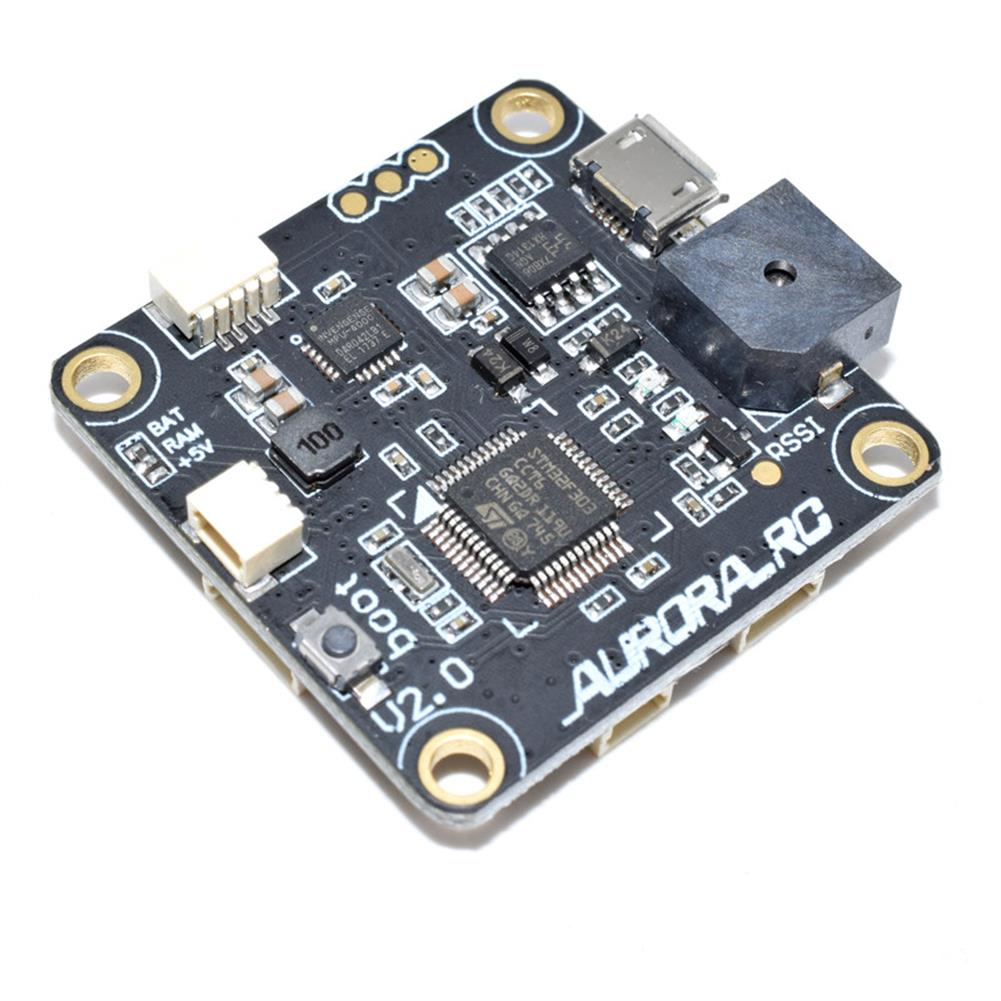 multi-rotor-parts AuroraRC 30.5*30.5mm AR-F3PRO Flight Controller Built-in OSD 5V/3A BEC for FPV RC Drone RC1293793 2