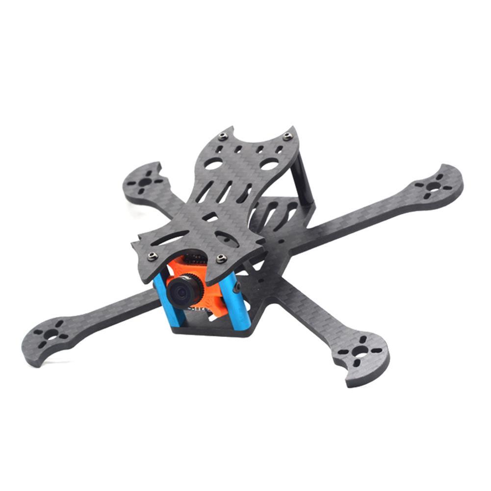 multi-rotor-parts FlyFox No.7 Sharp Claw 135mm Wheelbase 3mm Arm Carbon Fiber FPV Racing Frame Kit 30g RC1294274