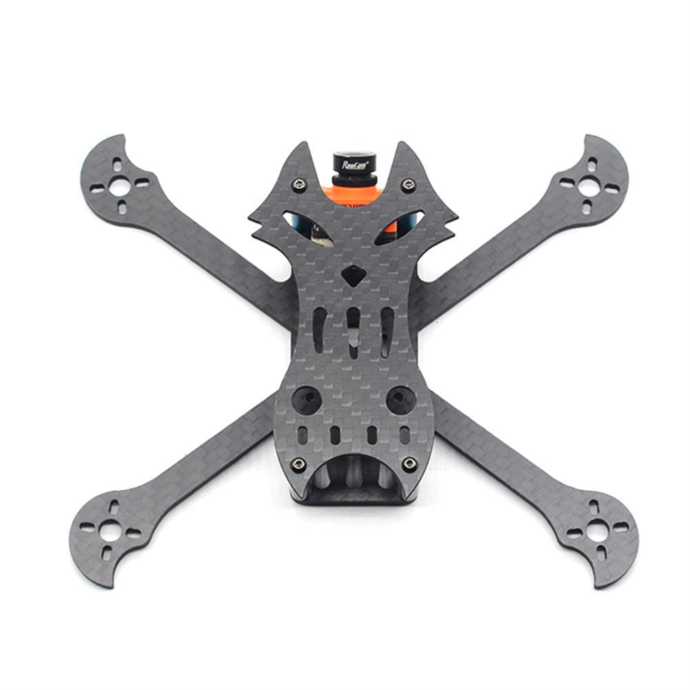 multi-rotor-parts FlyFox No.7 Sharp Claw 135mm Wheelbase 3mm Arm Carbon Fiber FPV Racing Frame Kit 30g RC1294274 1