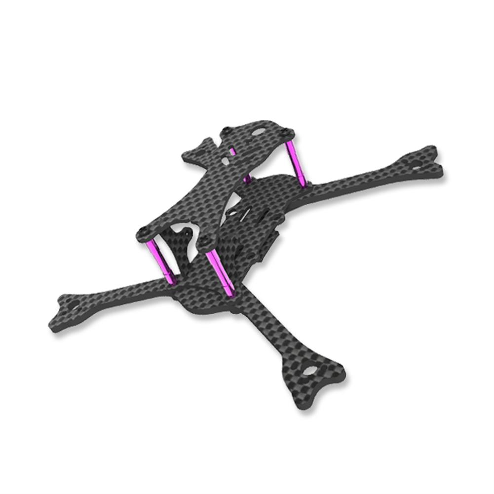 multi-rotor-parts Awesome GT135 135mm Wheelbase 3mm Arm Carbon Fiber FPV Racing Frame Kit 24g RC1294275 1