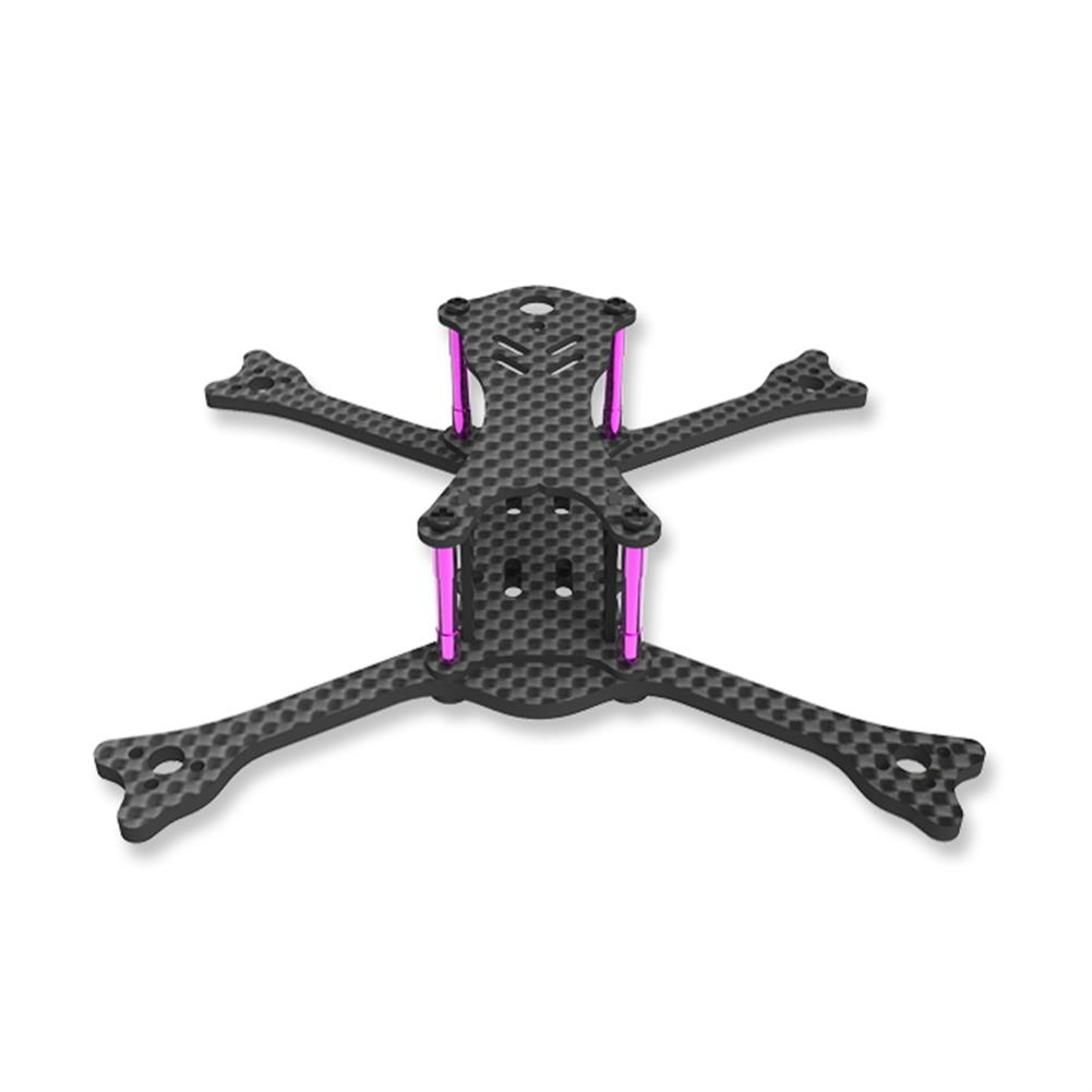 multi-rotor-parts Awesome GT135 135mm Wheelbase 3mm Arm Carbon Fiber FPV Racing Frame Kit 24g RC1294275 2
