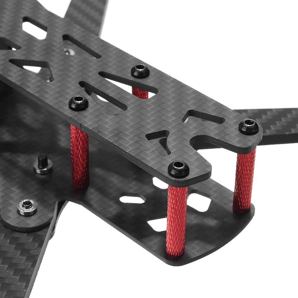 multi-rotor-parts Realacc Martian IV 7 Inch 300mm Wheelbase 4mm Arm Carbon Fiber FPV Racing Frame Kit RC1295851 8