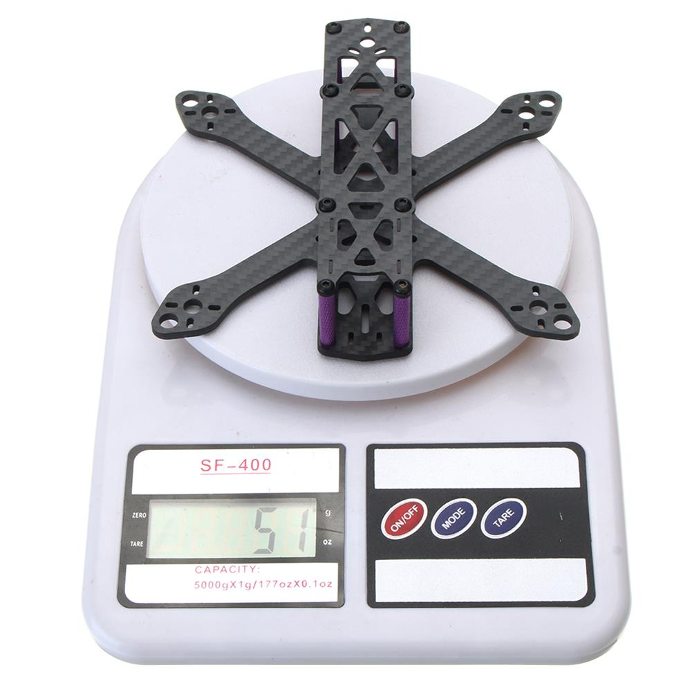 multi-rotor-parts Realacc Martian II 140mm Wheelbase 3mm Arm Carbon Fiber FPV Racing Frame Kit RC1295871 9
