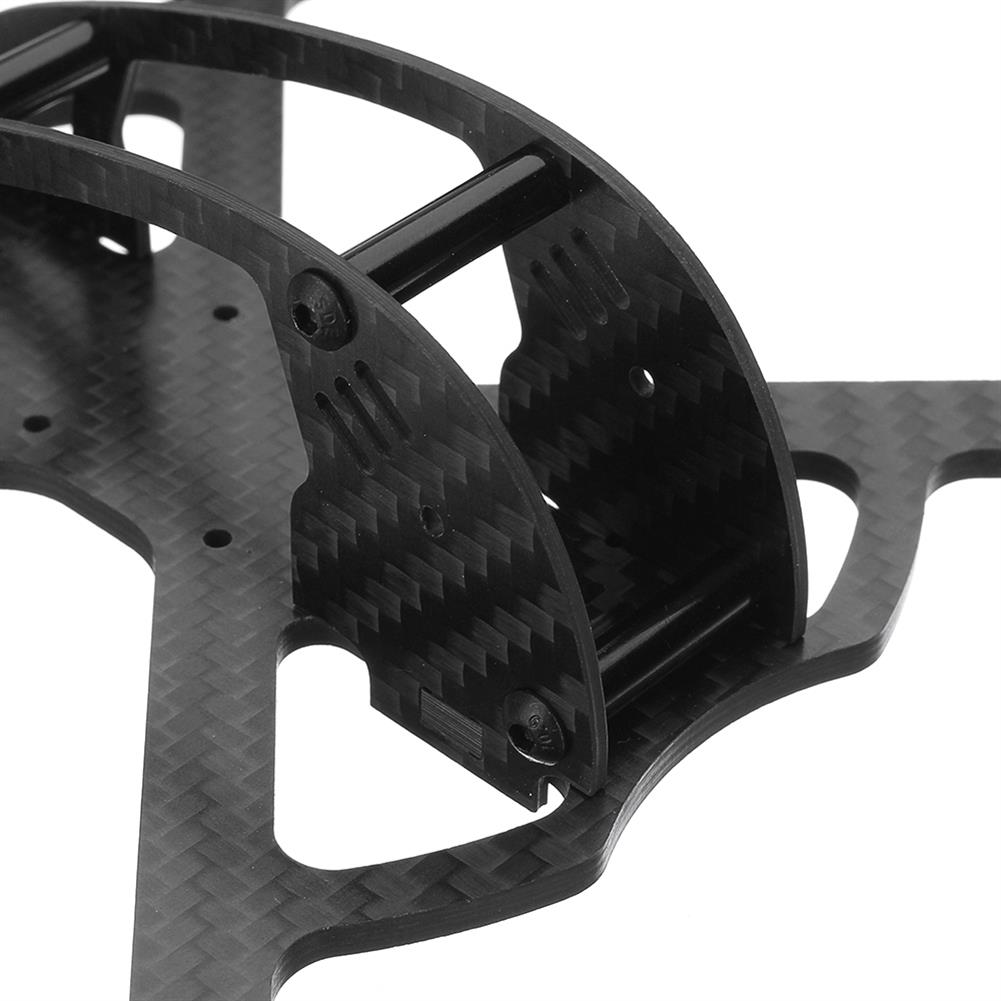 multi-rotor-parts Realacc Land150 150mm Wheelbase 3mm Arm X Type 3 Inch Carbon Fiber FPV Racing Frame Kit for RC Drone RC1299120 2