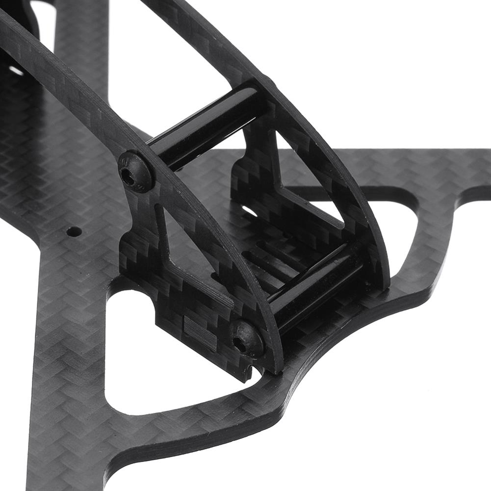 multi-rotor-parts Realacc Land150 150mm Wheelbase 3mm Arm X Type 3 Inch Carbon Fiber FPV Racing Frame Kit for RC Drone RC1299120 6