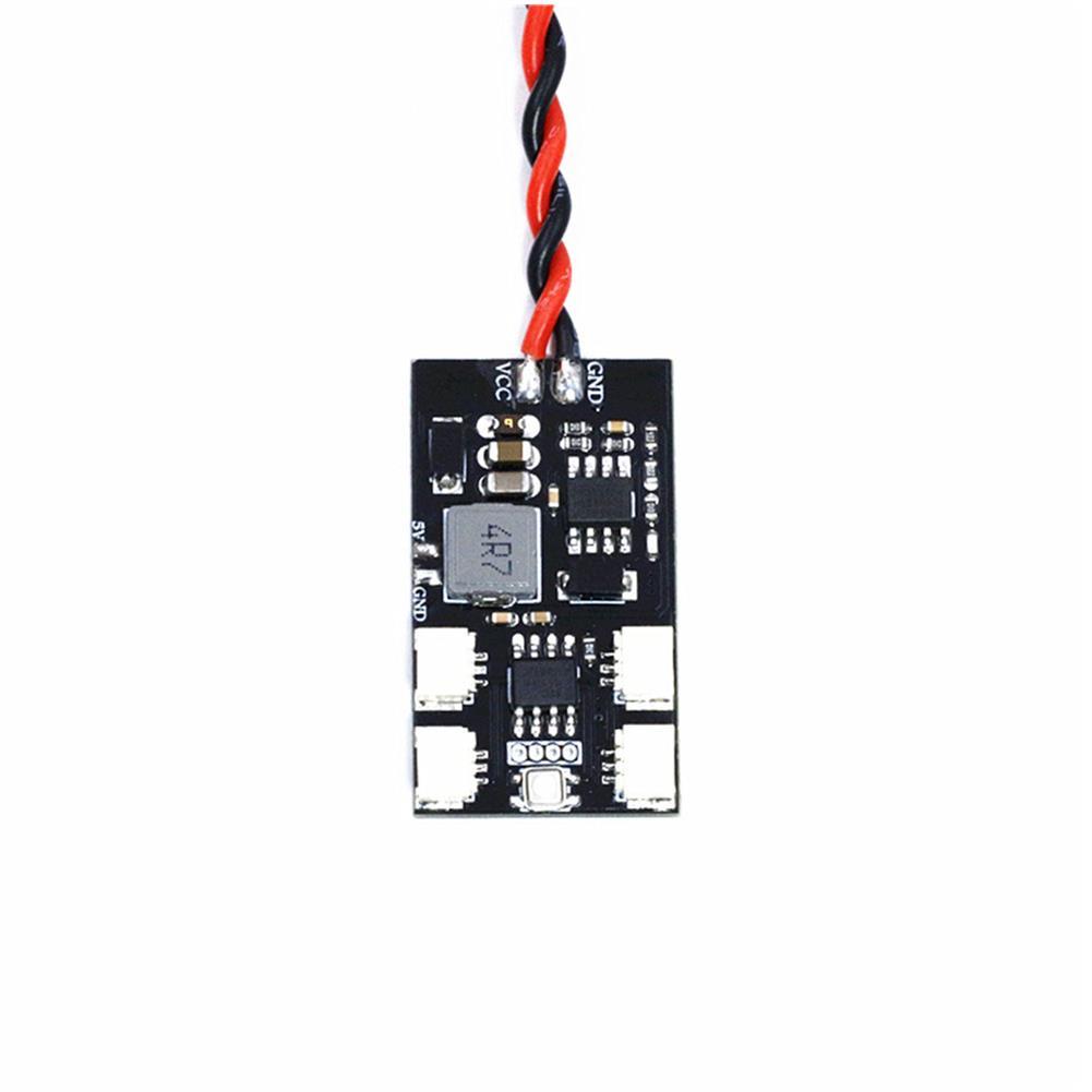 multi-rotor-parts Lantian 7-28V WS2812B Night LED Light Control Board Module for RC F3 Naze32 LED Strip RC1299146 1