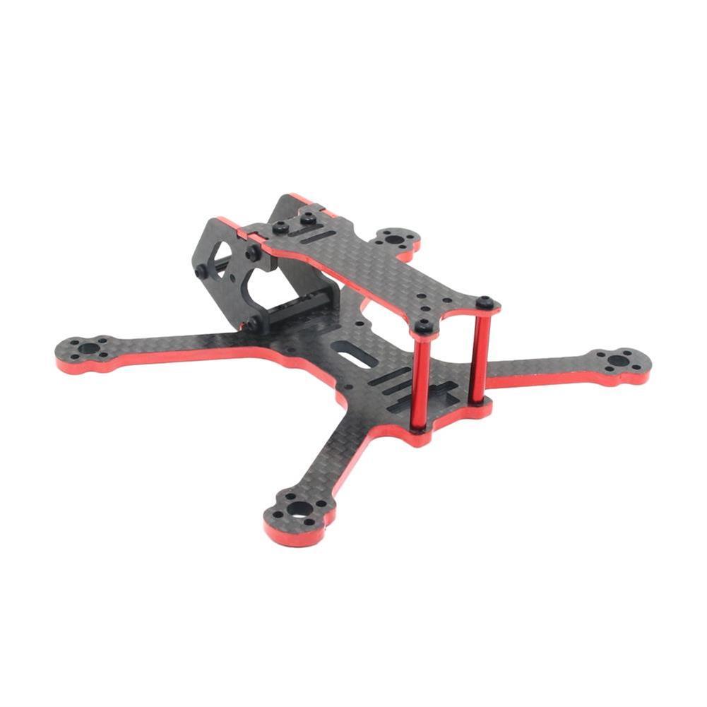 multi-rotor-parts SPC MAKER C120 120mm Wheelbase 3mm Arm Carbon Fiber FPV Racing Frame Kit RC1300570 3