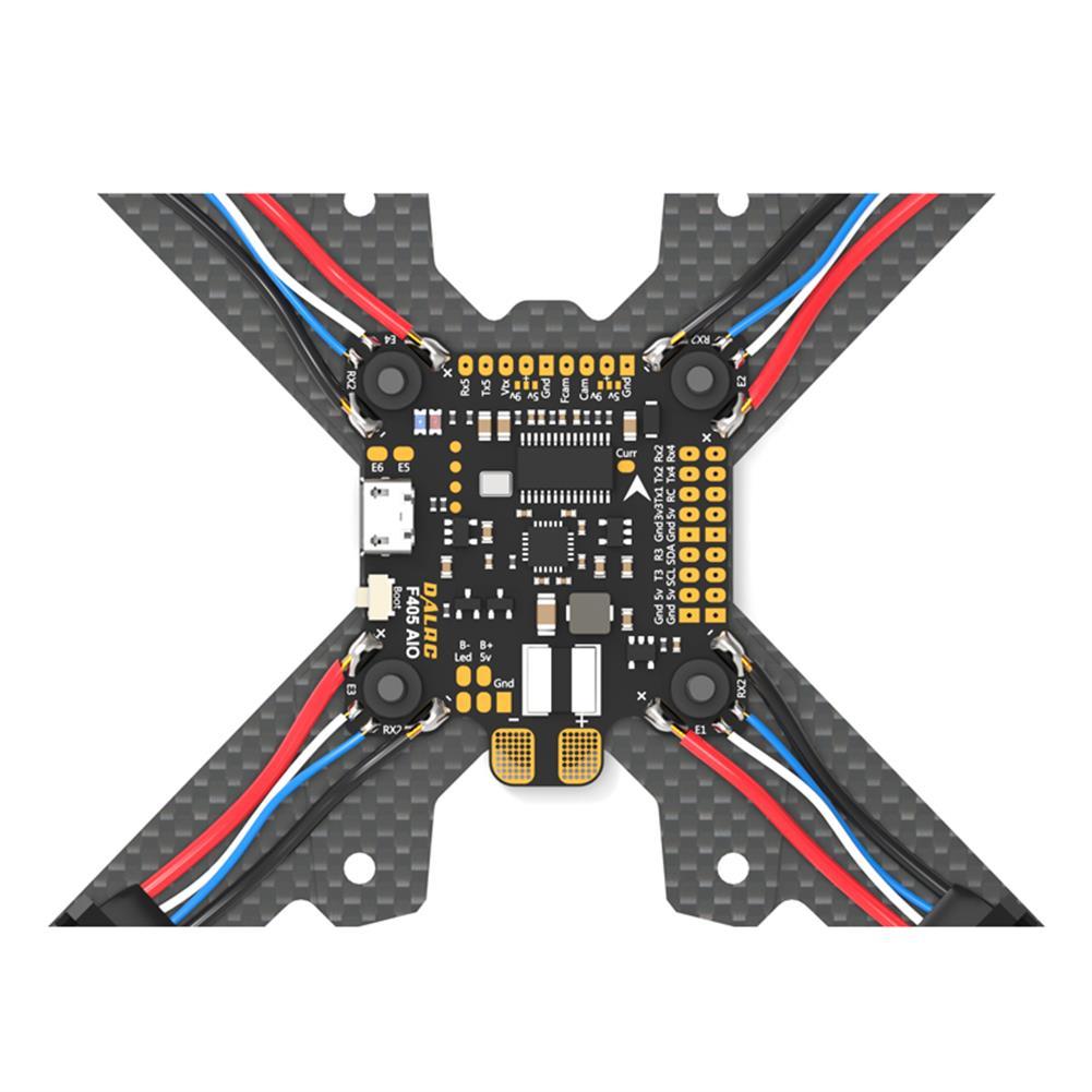 multi-rotor-parts DALRC F405 AIO Betaflight F4 Flight Controller MCU STM32F405 MPU6000 OSD 9V/1.5A 5V/2A BEC 200A PDB RC1300573 4