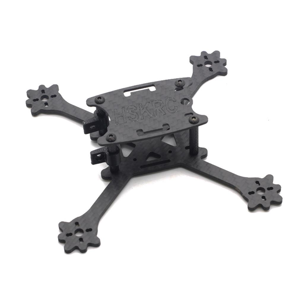 multi-rotor-parts HSKRC 3 Inch 140mm Wheelbase 3mm Arm Thickness Carbon Fiber Racing Frame Kit for Mini RC Drone RC1302957 1