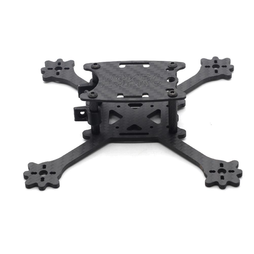 multi-rotor-parts HSKRC 3 Inch 140mm Wheelbase 3mm Arm Thickness Carbon Fiber Racing Frame Kit for Mini RC Drone RC1302957 2