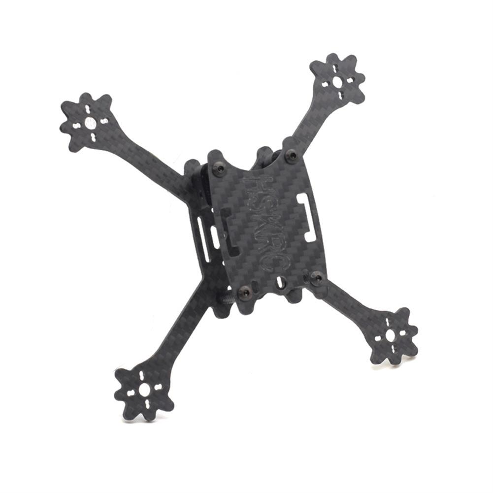 multi-rotor-parts HSKRC 3 Inch 140mm Wheelbase 3mm Arm Thickness Carbon Fiber Racing Frame Kit for Mini RC Drone RC1302957 3