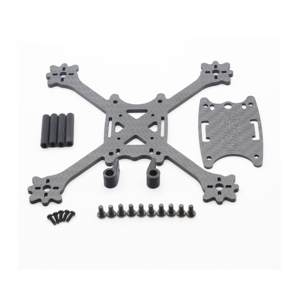 multi-rotor-parts HSKRC 3 Inch 140mm Wheelbase 3mm Arm Thickness Carbon Fiber Racing Frame Kit for Mini RC Drone RC1302957 4