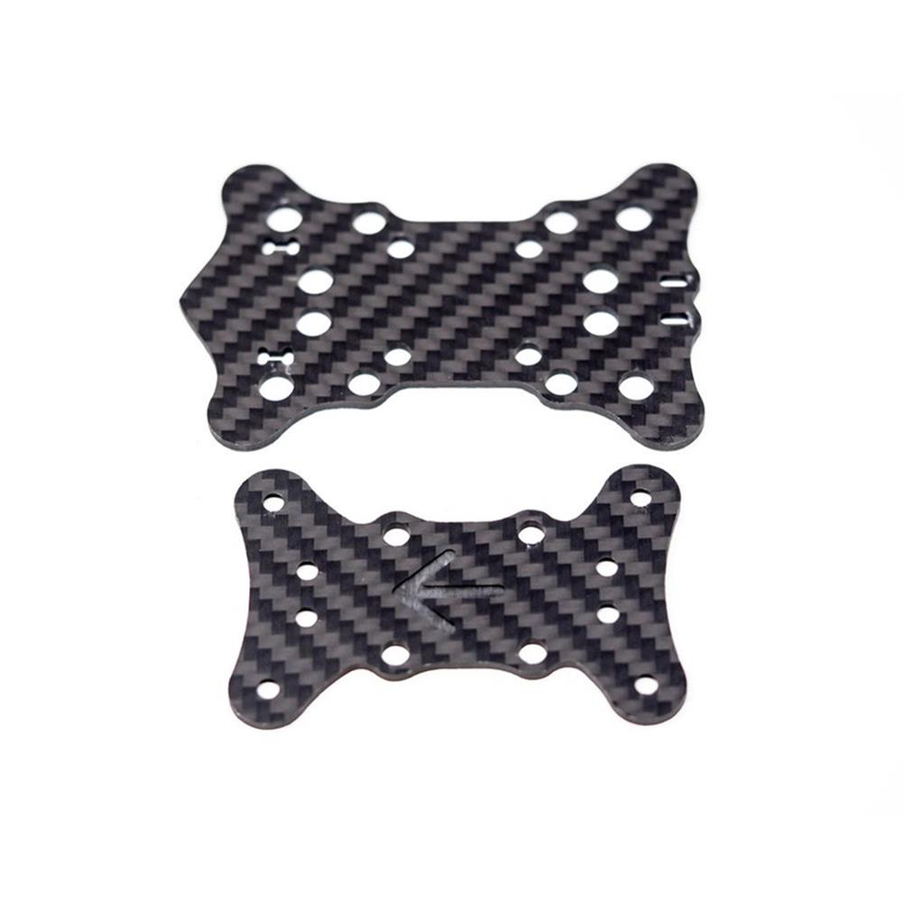 multi-rotor-parts EMAX Hawk 5 FPV RC Drone Spare Parts Mid Plate x1 + Bottom Plate x1 RC1303362