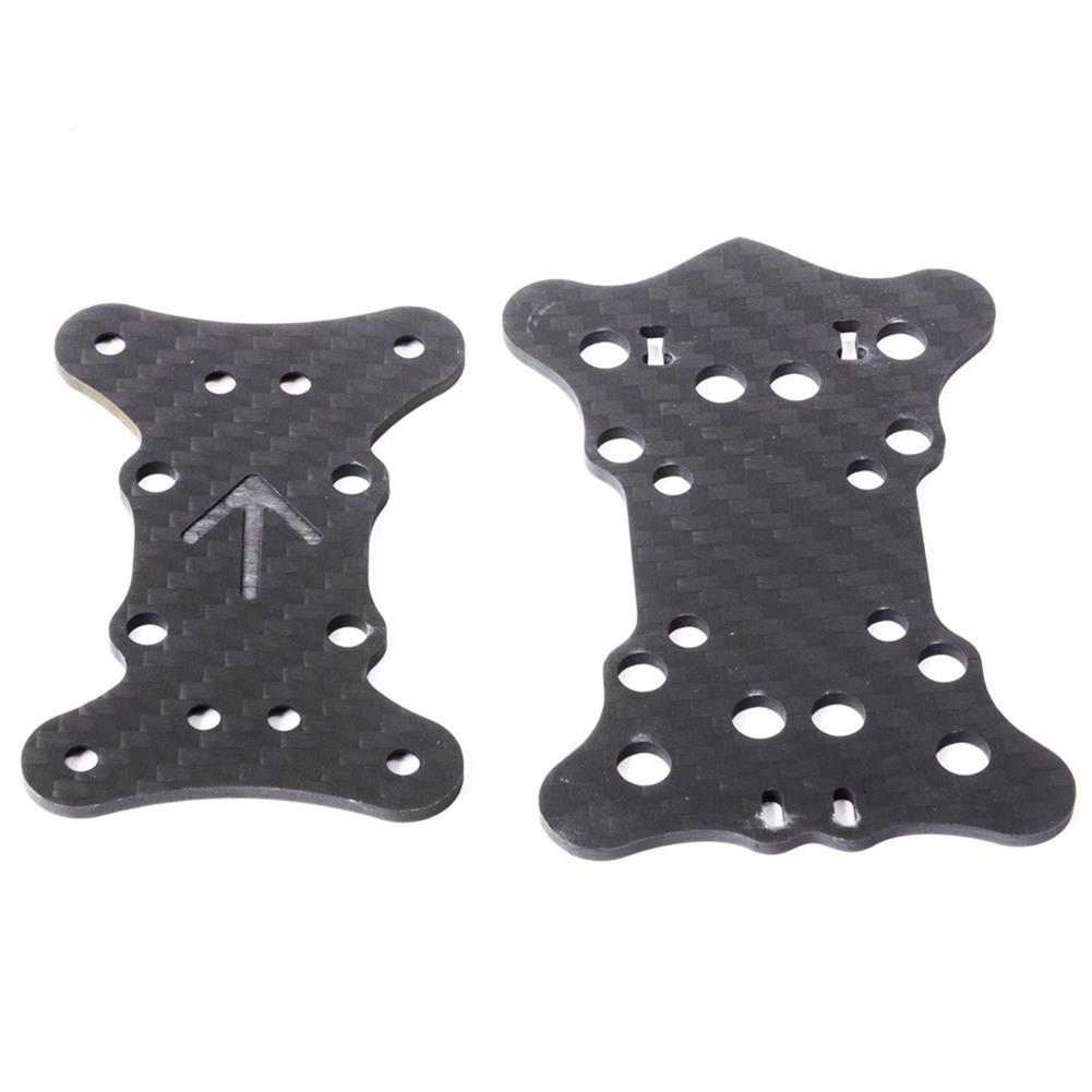 multi-rotor-parts EMAX Hawk 5 FPV RC Drone Spare Parts Mid Plate x1 + Bottom Plate x1 RC1303362 1