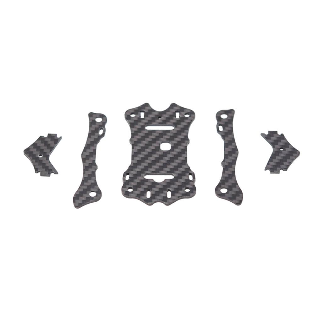 multi-rotor-parts EMAX Hawk 5 RC Drone Spare Parts Top Carbon Plate x1 + Support Rail x2 + Camera Plate x2 RC1303379