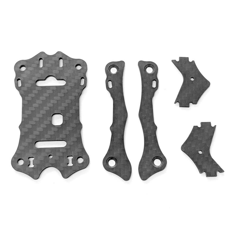multi-rotor-parts EMAX Hawk 5 RC Drone Spare Parts Top Carbon Plate x1 + Support Rail x2 + Camera Plate x2 RC1303379 1