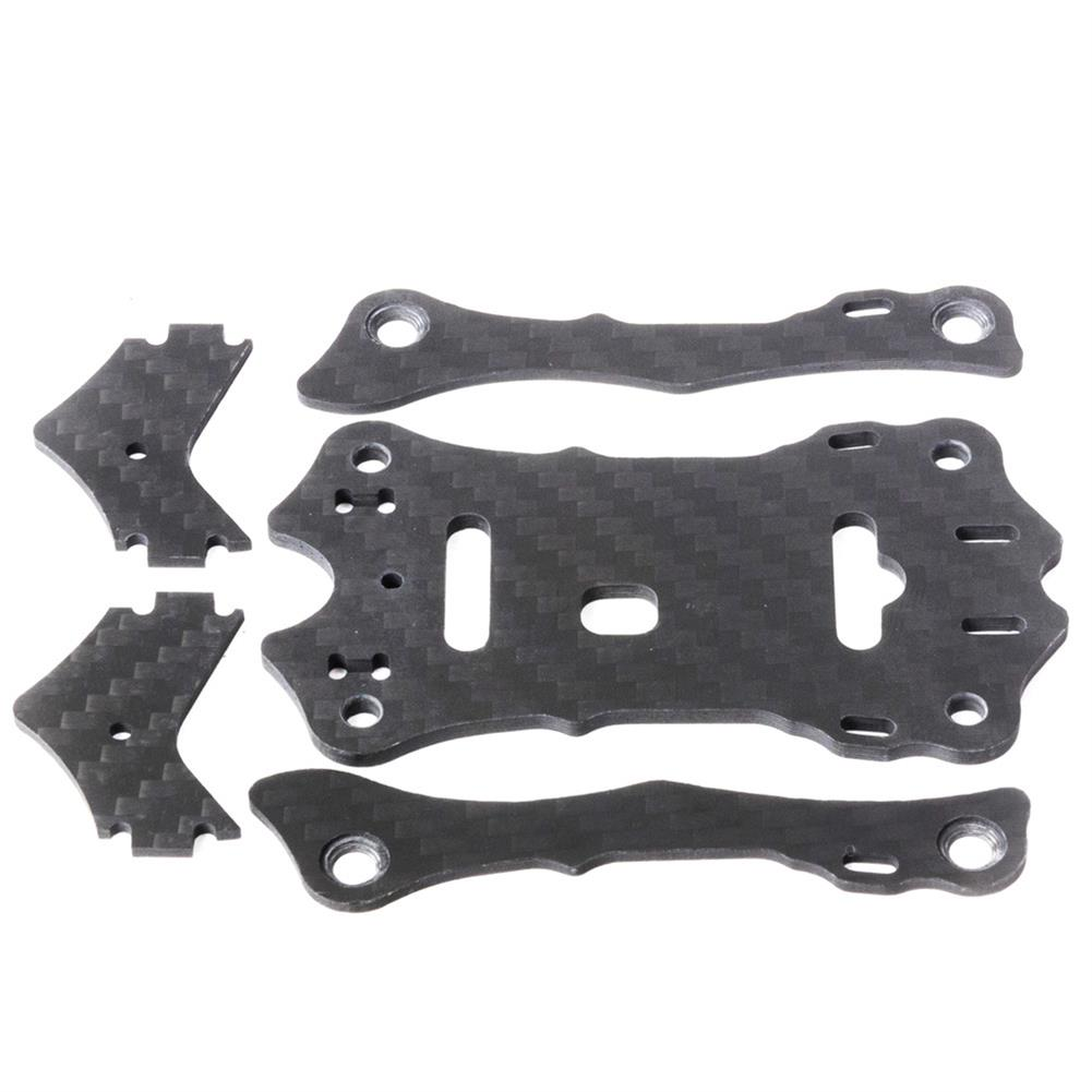 multi-rotor-parts EMAX Hawk 5 RC Drone Spare Parts Top Carbon Plate x1 + Support Rail x2 + Camera Plate x2 RC1303379 2