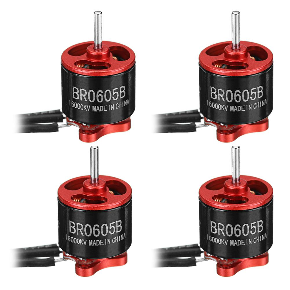 multi-rotor-parts 4X Racerstar Racing Edition 0605 BR0605B 16000KV 1-2S Brushless Motor For RC Drone FPV Racing Frame RC1306464
