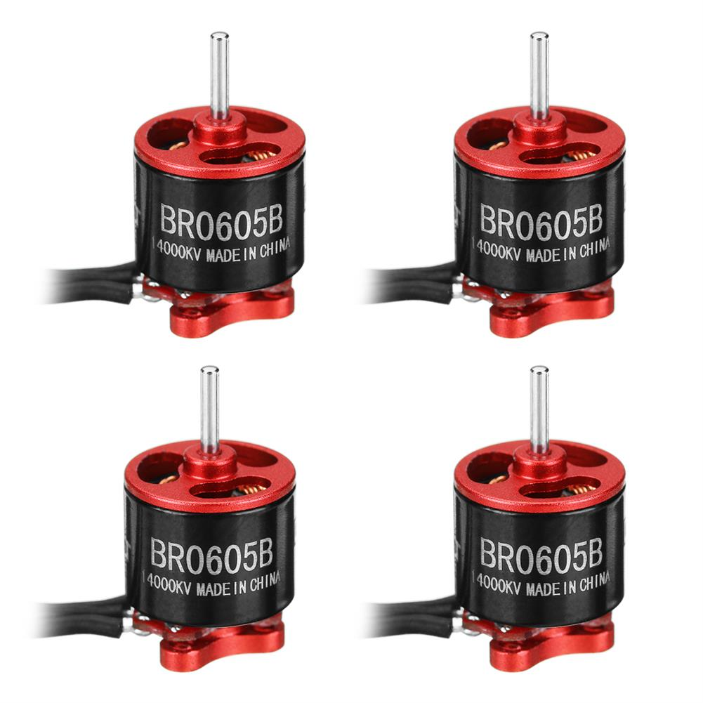 multi-rotor-parts 4X Racerstar Racing Edition 0605 BR0605B 14000KV 1-2S Brushless Motor For RC Drone FPV Racing Frame RC1306465