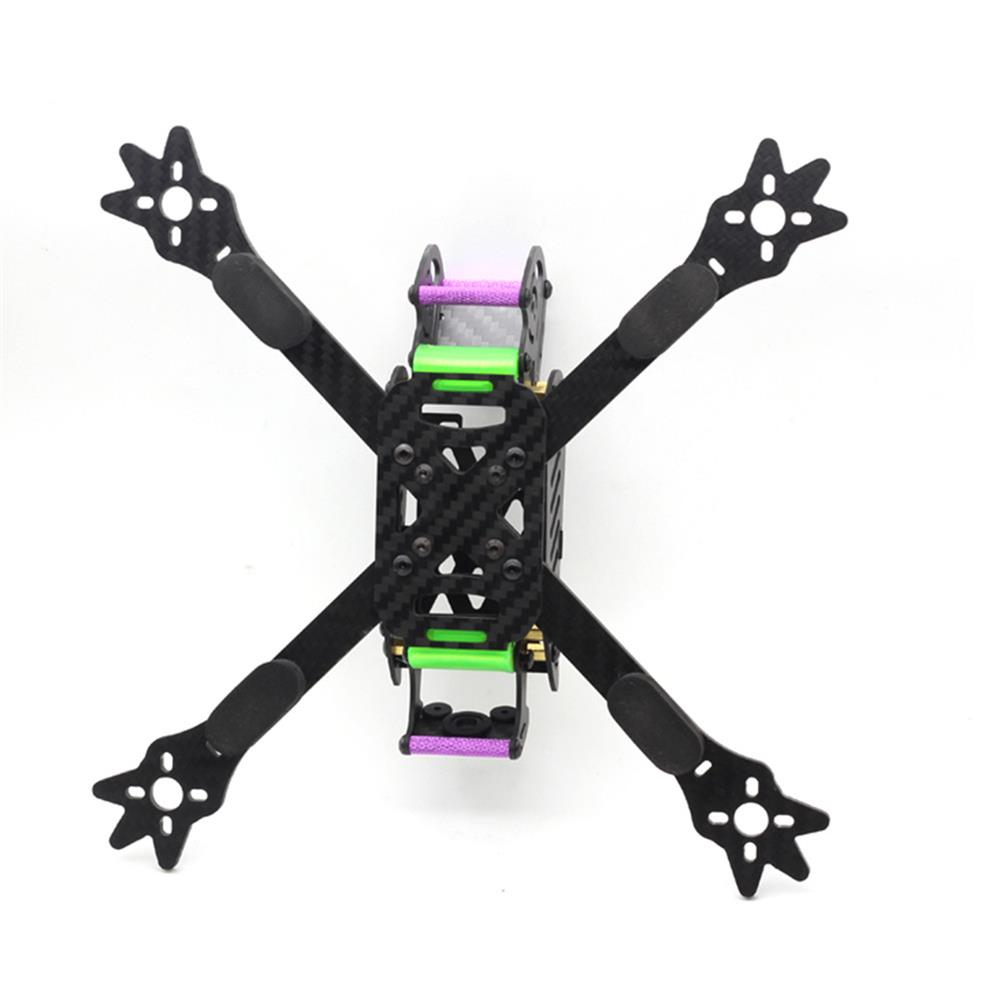 multi-rotor-parts HSKRC Woodpecker 235 235mm Wheelbase 4mm Arm 3K Carbon Fiber 5 Inch Racing Frame Kit for RC Drone RC1306467 4