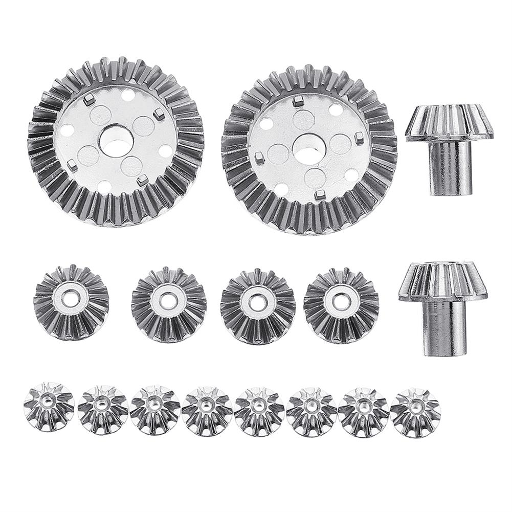 rc-car-parts 1 Set 16PCS Upgrade Metal Gear for Wltoys 12428-A 12428-B 12428-C /12423 Rc Car Parts RC1306915