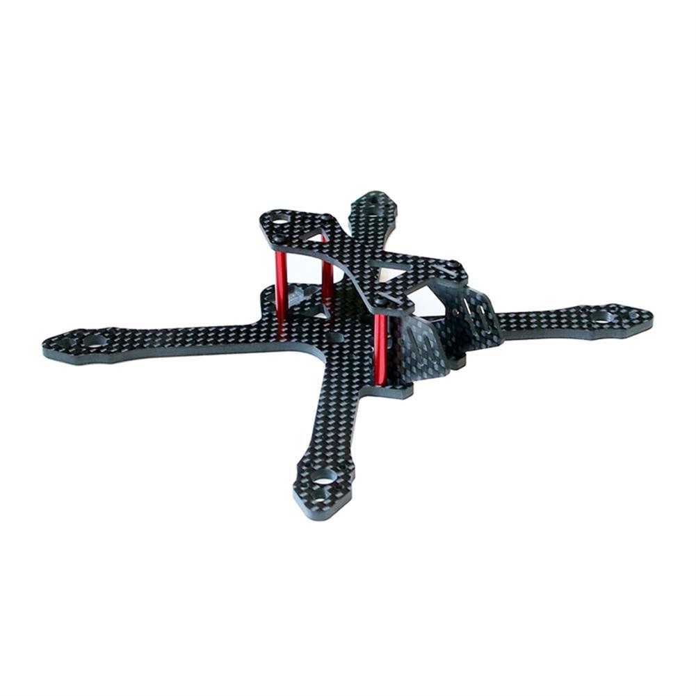 multi-rotor-parts SPC Maker 140X 140mm Wheelbase 3K Carbon Fiber FPV Racing Frame Kit 26g RC1307004 1
