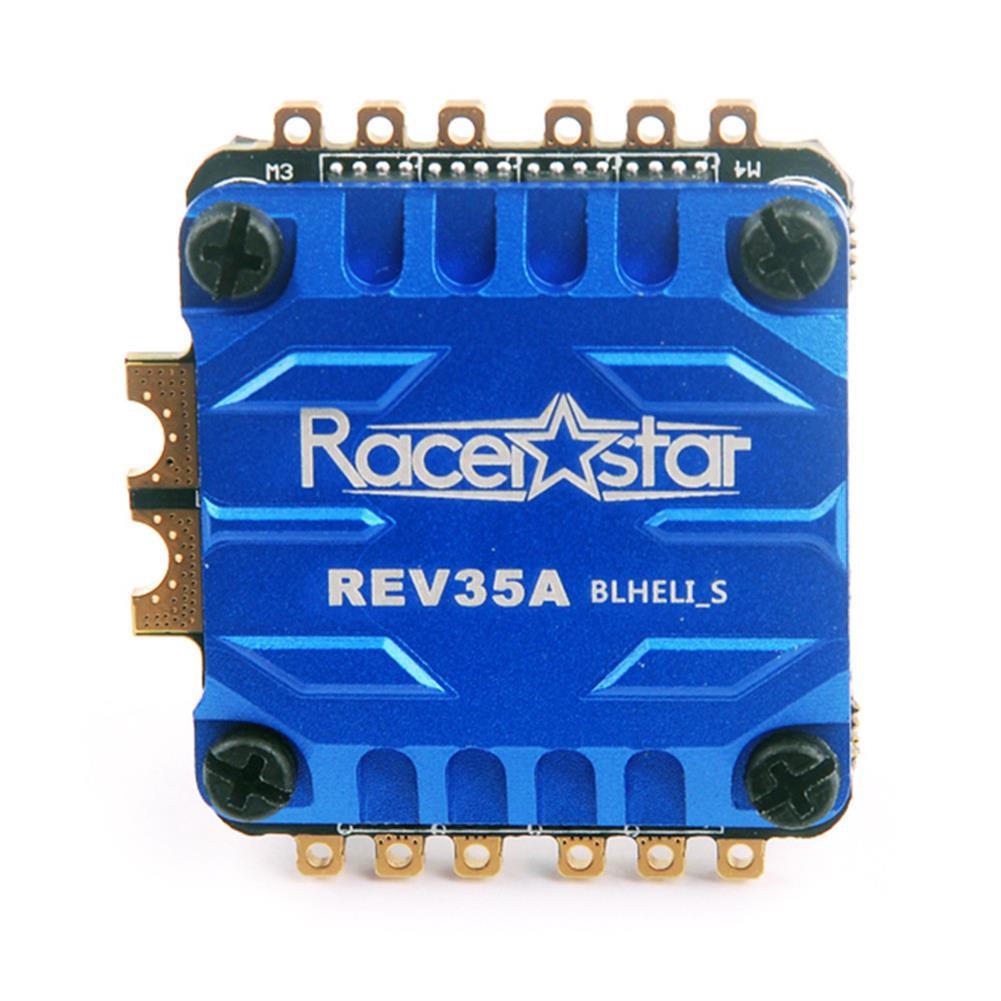 multi-rotor-parts Racerstar Rev35A 35A BLheli_S 3-6S 4 in 1 ESC w/ Current Sensor & CNC Aluminum Alloy Heat Sink RC1309151 1