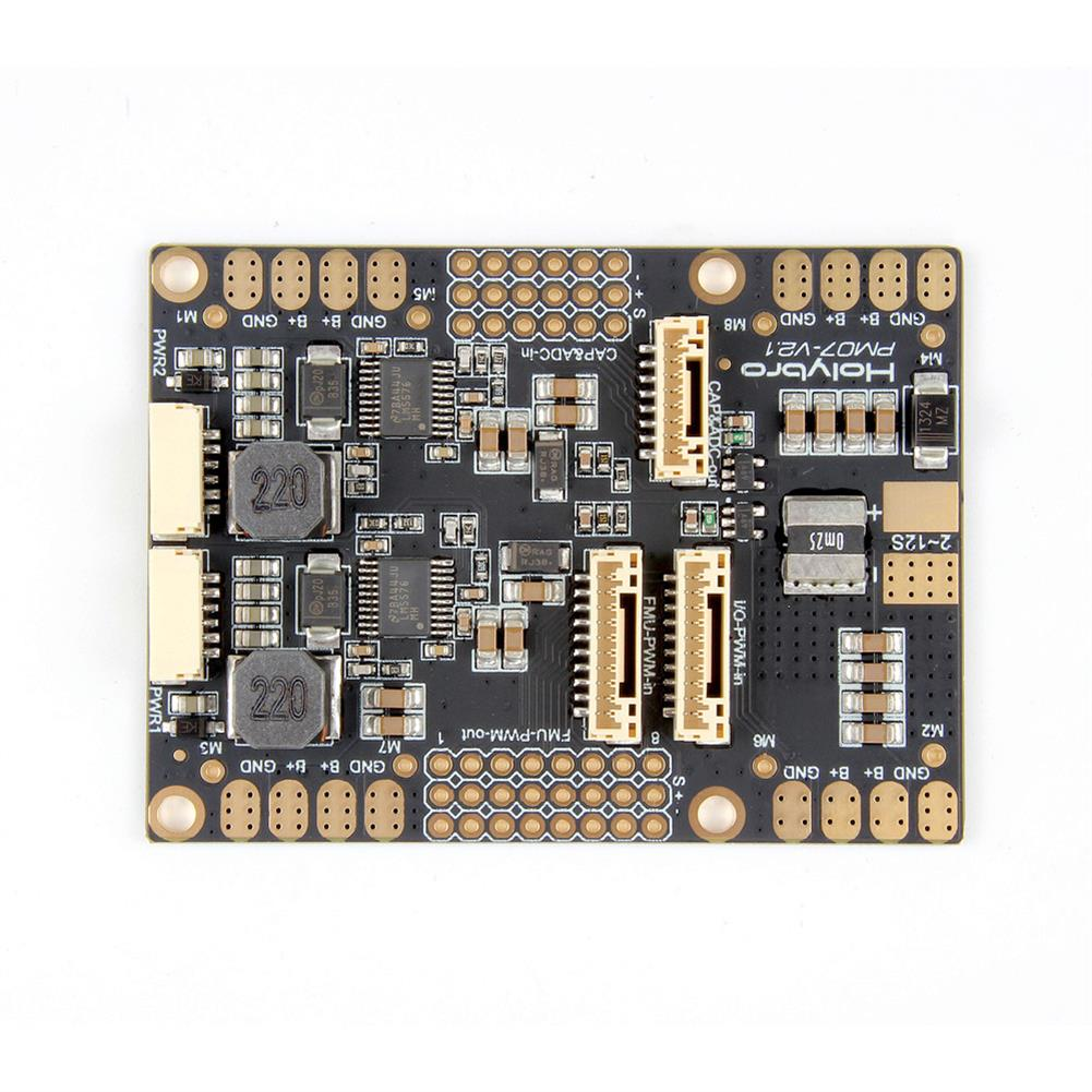 multi-rotor-parts HolyBro PM07 Power Management PM Module w/ 5V UBEC Output for Pixhawk 4 PX4 Flight Controller RC1309166