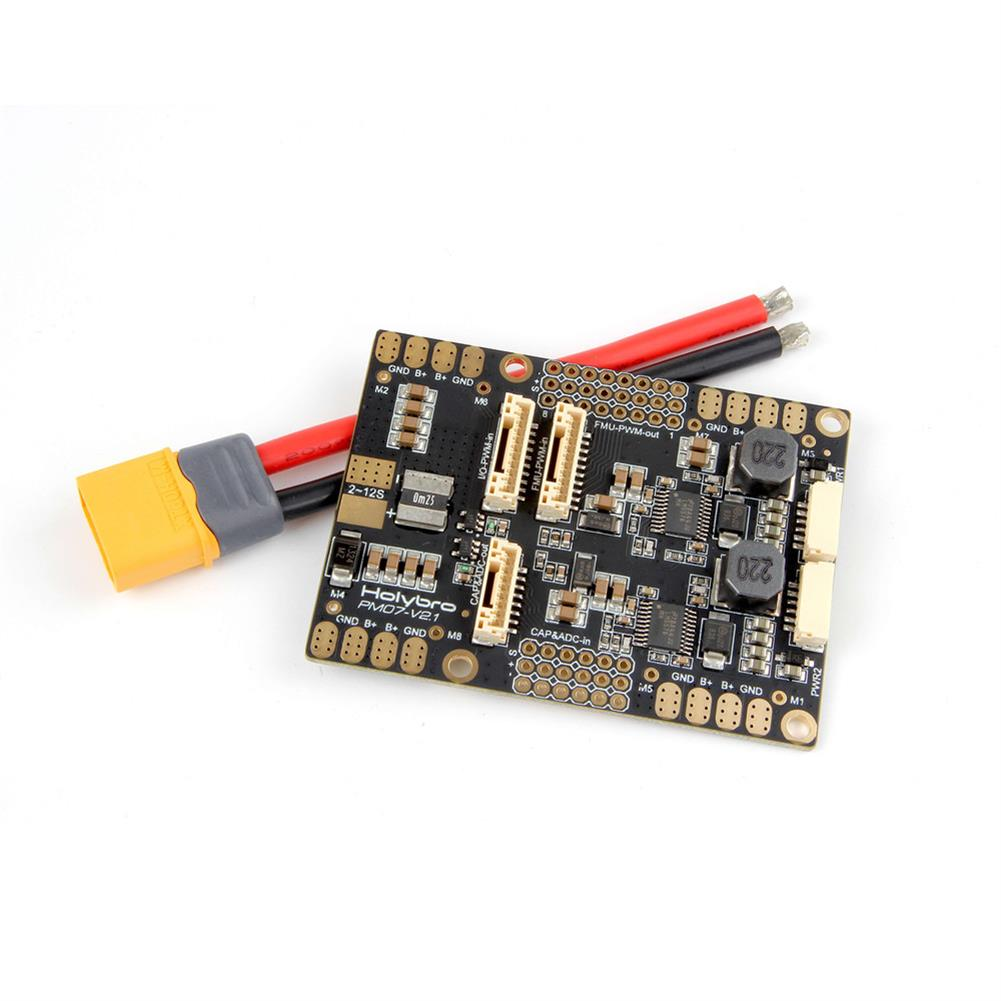 multi-rotor-parts HolyBro PM07 Power Management PM Module w/ 5V UBEC Output for Pixhawk 4 PX4 Flight Controller RC1309166 3