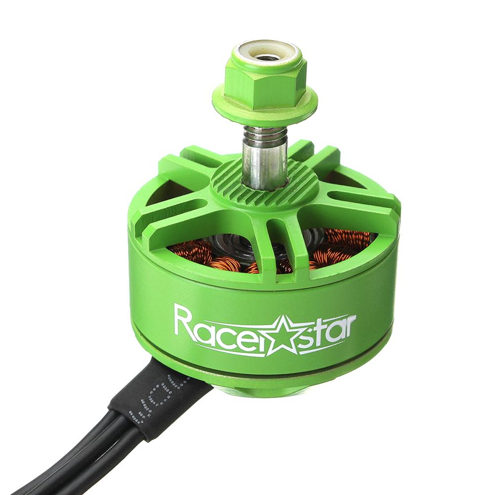 multi-rotor-parts 4X Racerstar 2508 BR2508S Green Edition 2522KV 3-5S Brushless Motor For FPV Racing RC Drone RC1310426 5