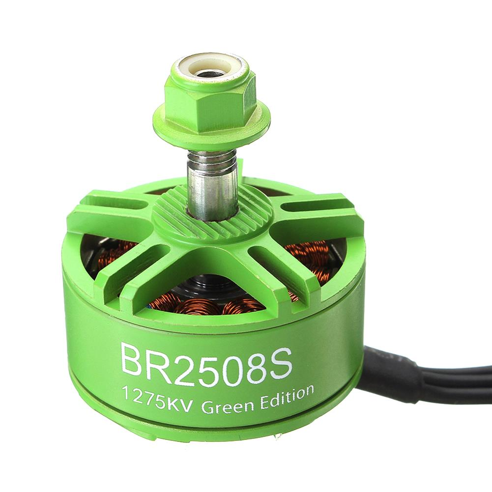 multi-rotor-parts 4X Racerstar 2508 BR2508S Green Edition 1275KV 4-6S Brushless Motor For FPV Racing RC Drone RC1310430 3