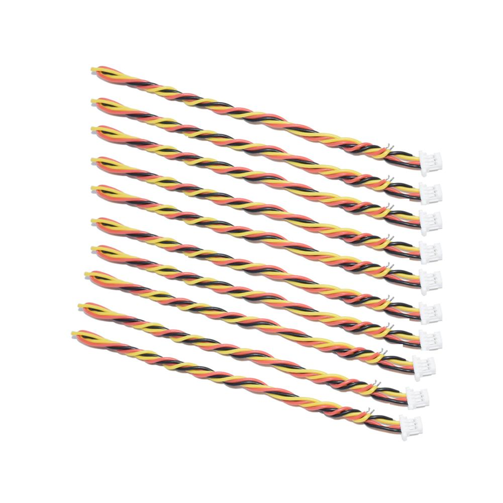 multi-rotor-parts 10 PCS AuroraRC 3-Pin SH1.0mm JST Plug Cable 15cm For RC Drone FPV Racing Multi Rotor RC1311495