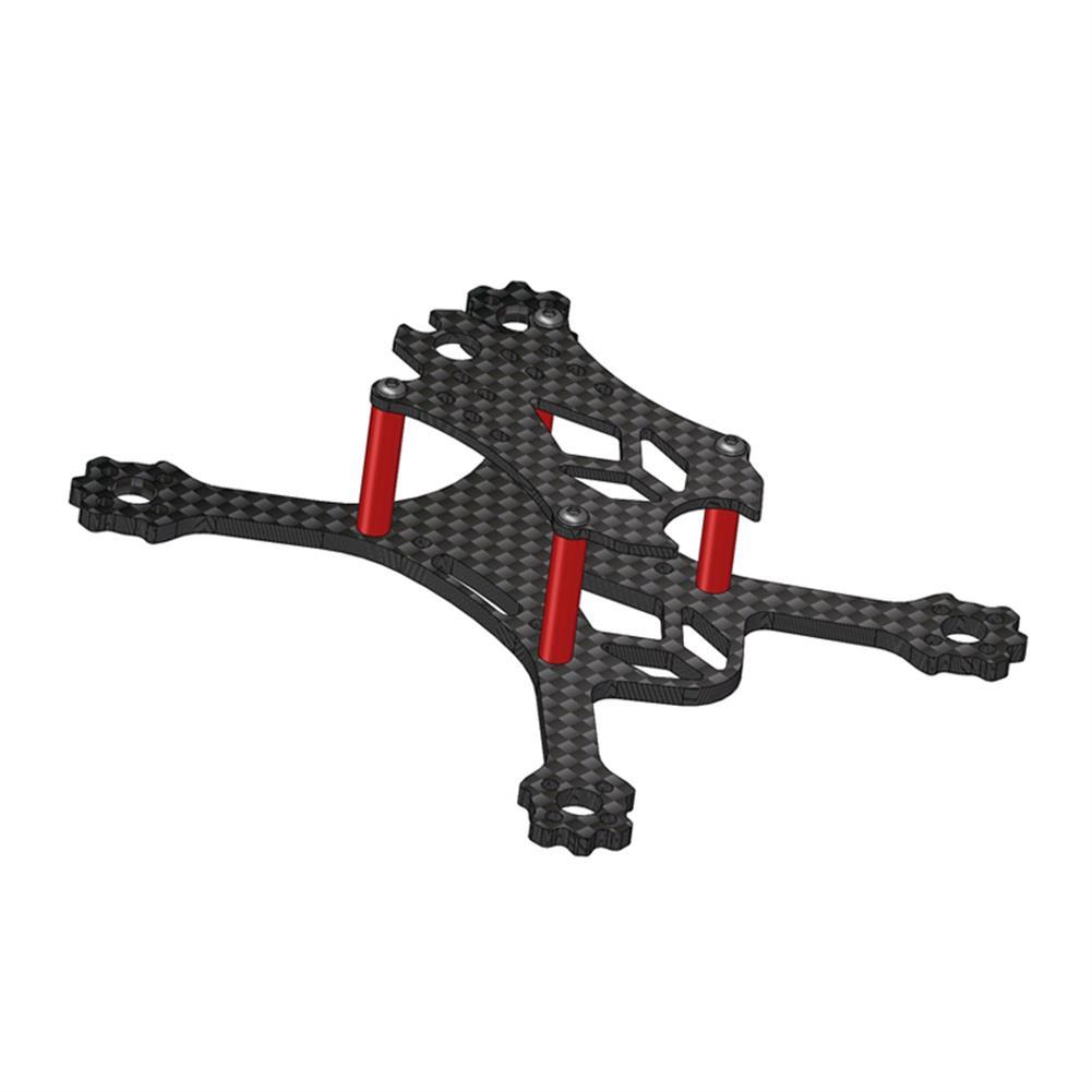 multi-rotor-parts VX98 98mm Wheelbase 2.5mm Arm 3K Carbon Fiber X Stretch FPV Racing Frame Kit RC1312922