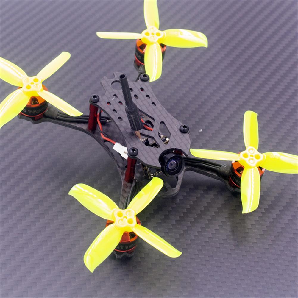 multi-rotor-parts VX98 98mm Wheelbase 2.5mm Arm 3K Carbon Fiber X Stretch FPV Racing Frame Kit RC1312922 3