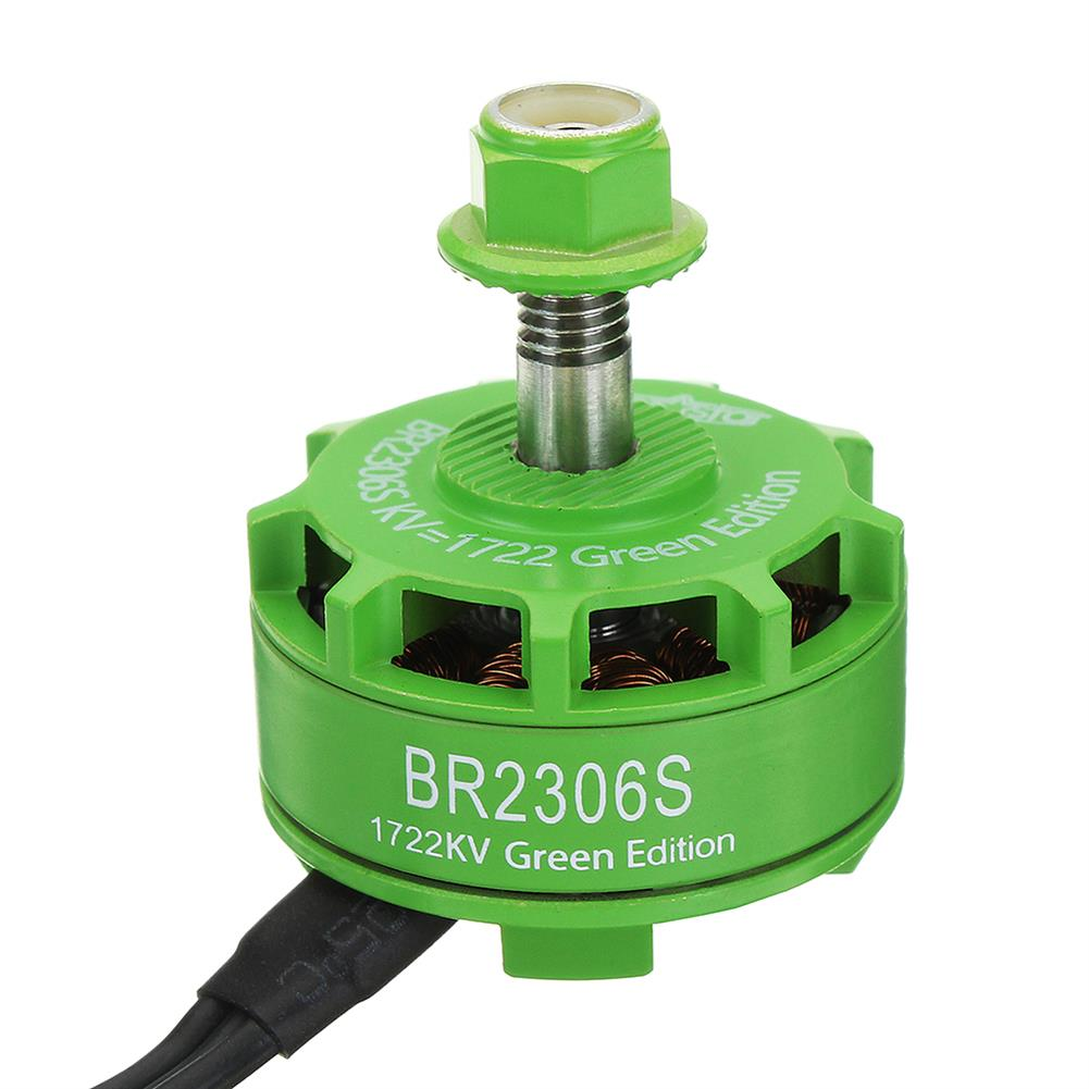 multi-rotor-parts Racerstar 2306 BR2306S Green Edition 1722KV Brushless Motor 4-6S For RC Drone FPV Racing Multi Rotor RC1316922