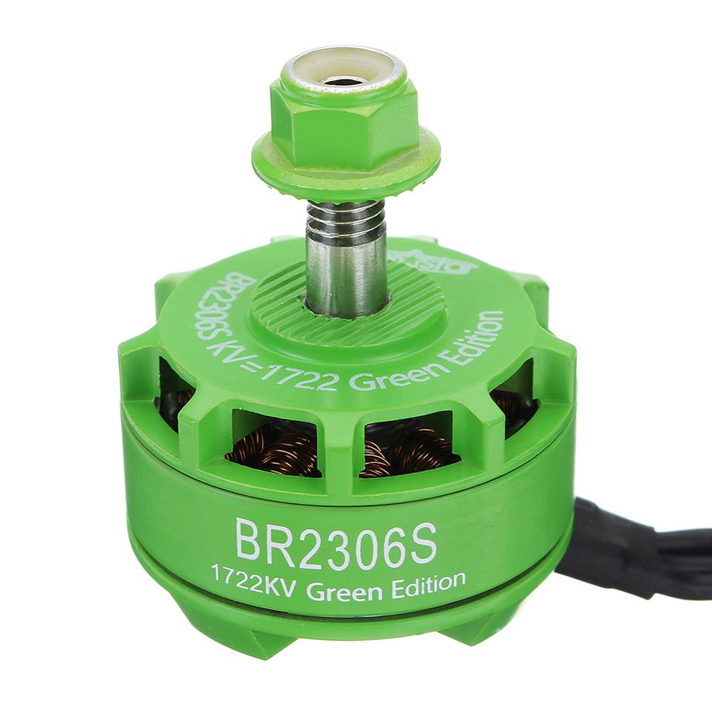 multi-rotor-parts Racerstar 2306 BR2306S Green Edition 1722KV Brushless Motor 4-6S For RC Drone FPV Racing Multi Rotor RC1316922 1