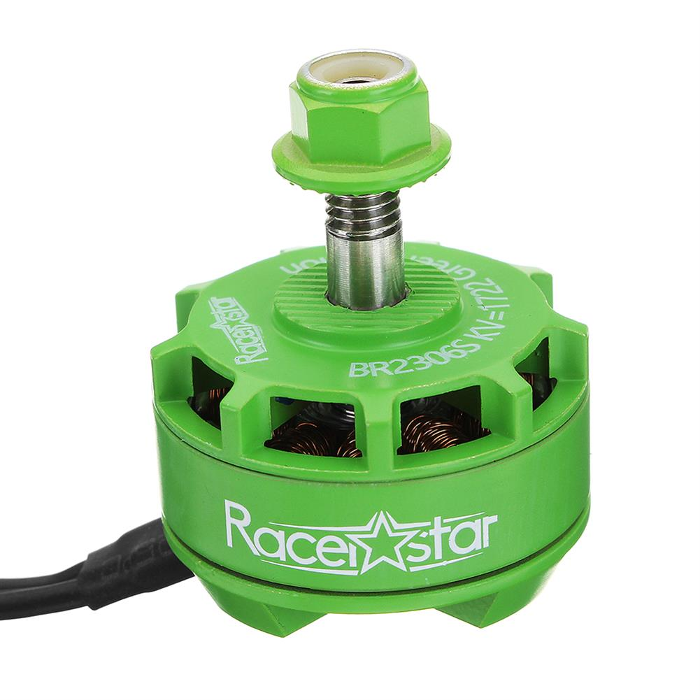 multi-rotor-parts Racerstar 2306 BR2306S Green Edition 1722KV Brushless Motor 4-6S For RC Drone FPV Racing Multi Rotor RC1316922 2