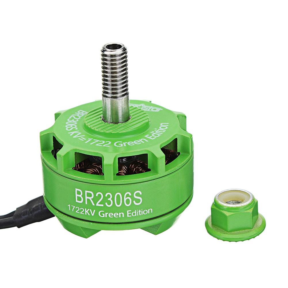multi-rotor-parts Racerstar 2306 BR2306S Green Edition 1722KV Brushless Motor 4-6S For RC Drone FPV Racing Multi Rotor RC1316922 4