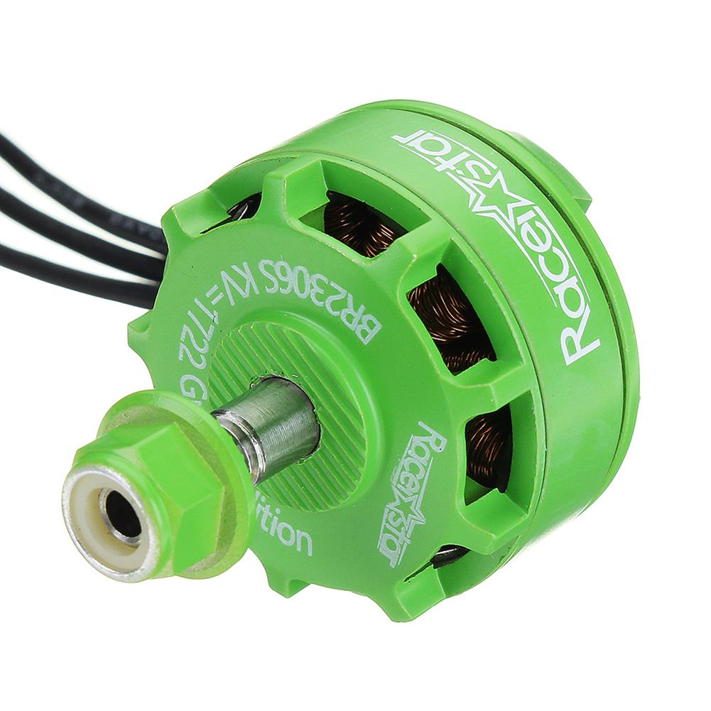 multi-rotor-parts Racerstar 2306 BR2306S Green Edition 1722KV Brushless Motor 4-6S For RC Drone FPV Racing Multi Rotor RC1316922 5
