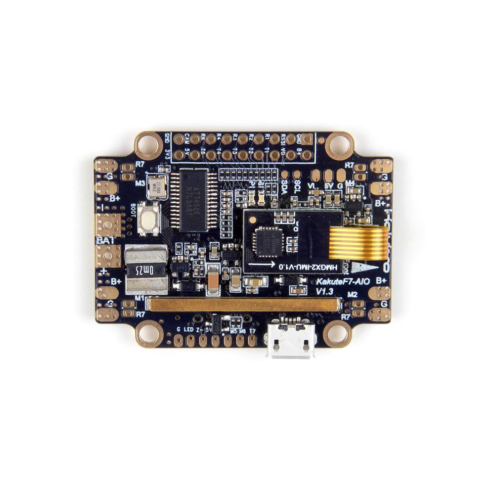 multi-rotor-parts Holybro Kakute F7 AIO STM32F745 Flight Controller w/ OSD PDB Current Sensor Barometer for RC Drone RC1317570