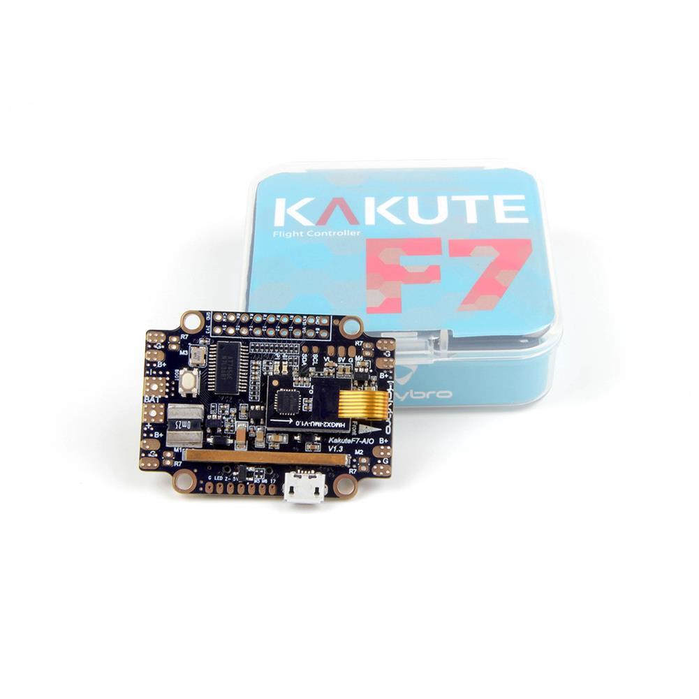 multi-rotor-parts Holybro Kakute F7 AIO STM32F745 Flight Controller w/ OSD PDB Current Sensor Barometer for RC Drone RC1317570 7