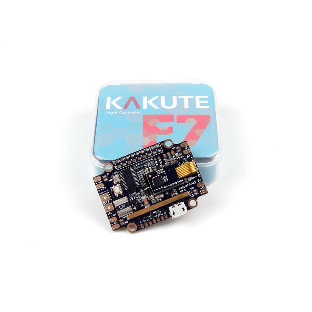 multi-rotor-parts Holybro Kakute F7 AIO STM32F745 Flight Controller w/ OSD PDB Current Sensor Barometer for RC Drone RC1317570 8
