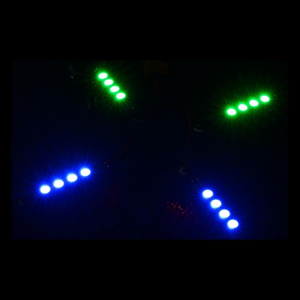 multi-rotor-parts 2PCS Mateksys RGB ARM 16V 46X6mm Light LED Strip Board for RC Drone FPV Racing RC1317607 2