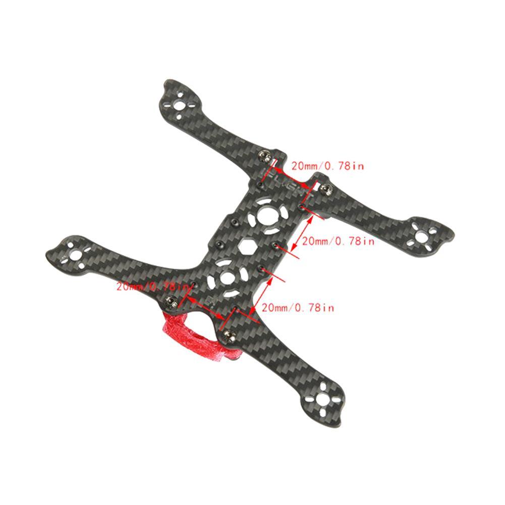 multi-rotor-parts iFlight iH3 Dual Split Mini 3 Inch 142.5mm Wheelbase 3mm Arm Carbon Fiber FPV Racing Frame Kit RC1317756 6
