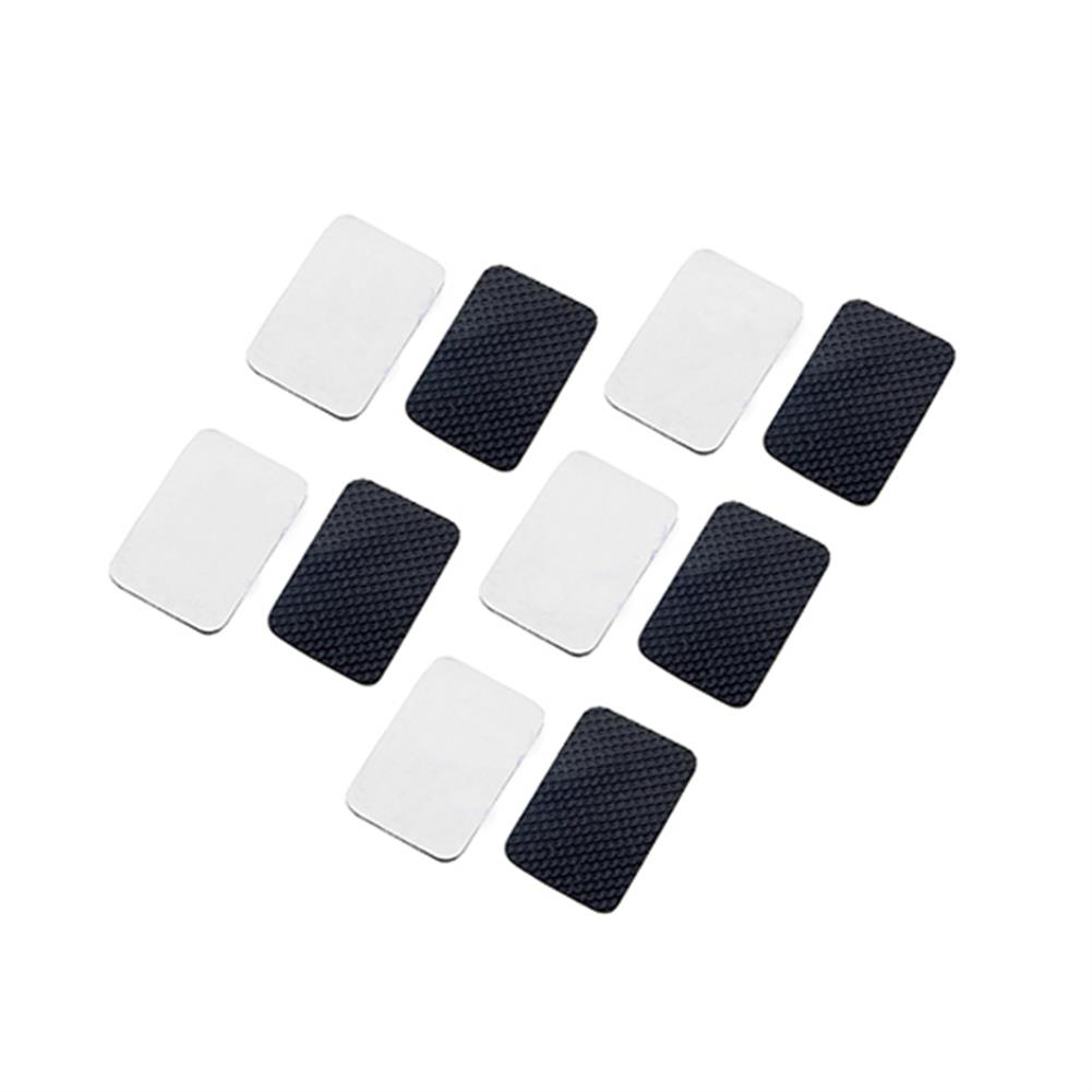 multi-rotor-parts 10 PCS RJX 3/M Anti-Slip Damping Silicone Mat Adhesive Tape 20X30X1mm for FPV Racing Drone Battery RC1318566