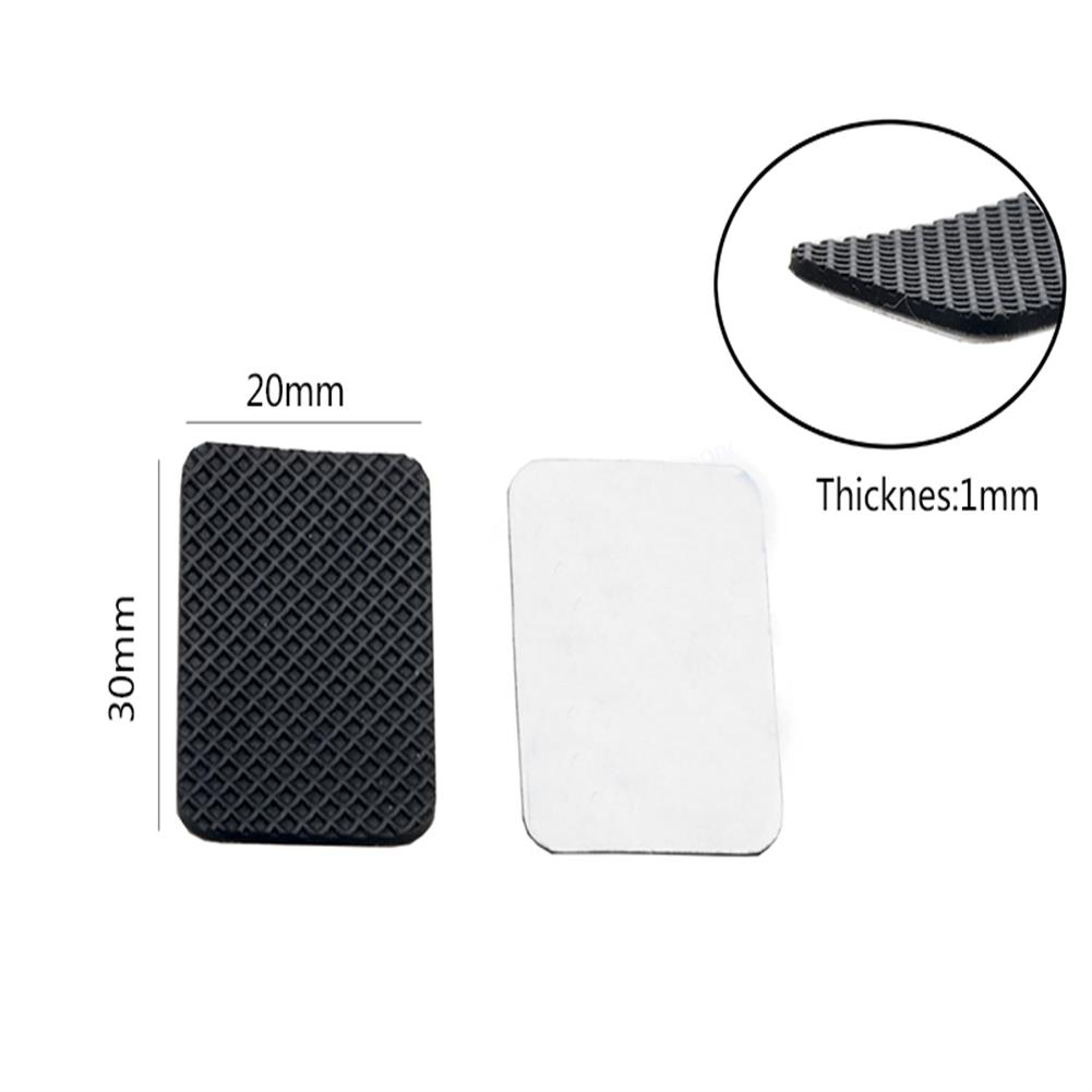 multi-rotor-parts 10 PCS RJX 3/M Anti-Slip Damping Silicone Mat Adhesive Tape 20X30X1mm for FPV Racing Drone Battery RC1318566 2