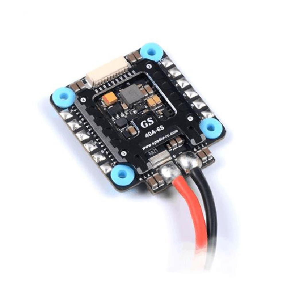 multi-rotor-parts SPEDIX GS40 4 IN 1 40A 2-6S Blheli_32 FPV Racing Brushless ESC for RC Drone 30.5x30.5mm RC1323427