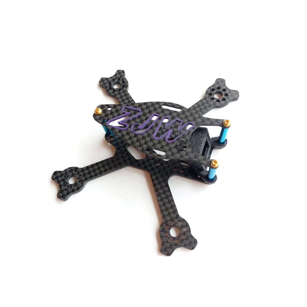 multi-rotor-parts 95mm Micro FPV Racing Frame Carbon Fiber 14g Supports 2 Inch Propeller For RC Drone RC1326234 1