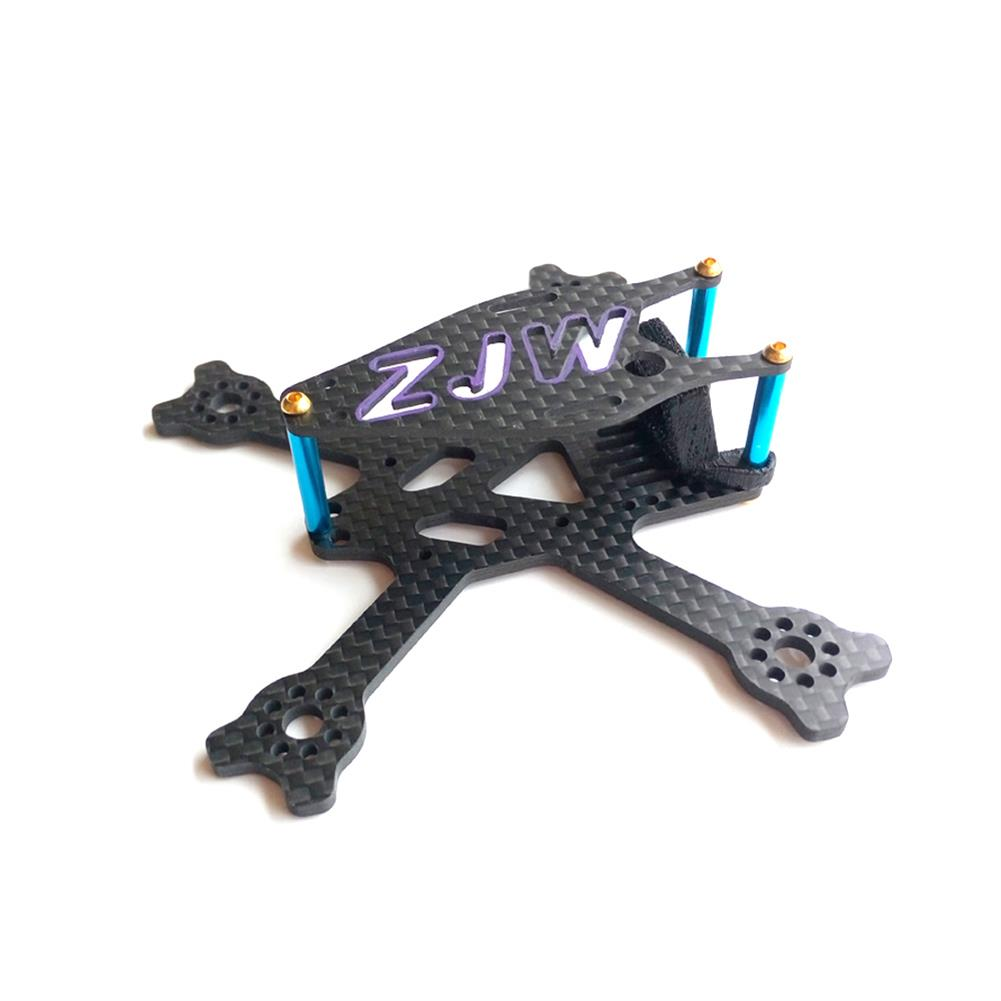 multi-rotor-parts 95mm Micro FPV Racing Frame Carbon Fiber 14g Supports 2 Inch Propeller For RC Drone RC1326234 2